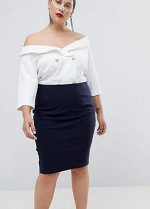 Ralph lauren брендовая юбка#спідниця коттон#натуральная кожа, ...