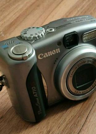 Фотоапарат Canon PowerShot A710 IS з картою пам'яті на 2Gb