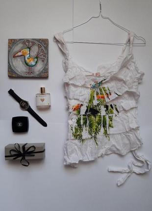 Блуза , топ натуральна ніжна guarana