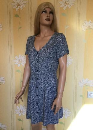 Трендовое платье халат рубашка на пуговицах 90 винтаж ретро ви...