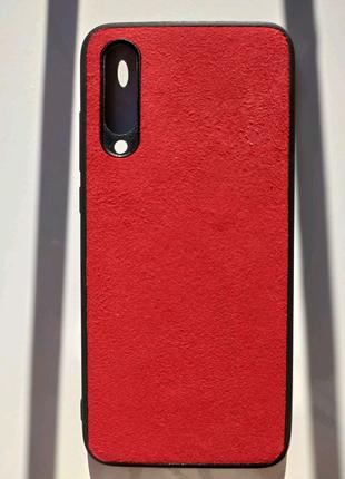 Чехол Alcantara Xiaomi Mi 9 Lite