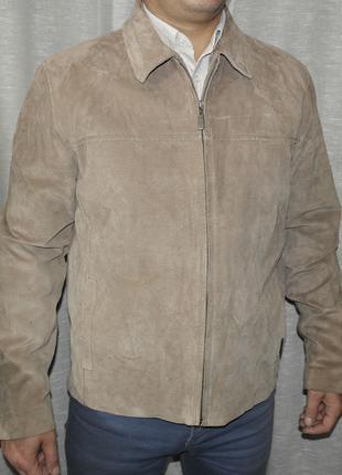 Ben Sherman Отличная замшевая куртка мужская пиджак