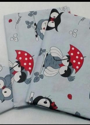 Комплект детского постельного белья.новый.