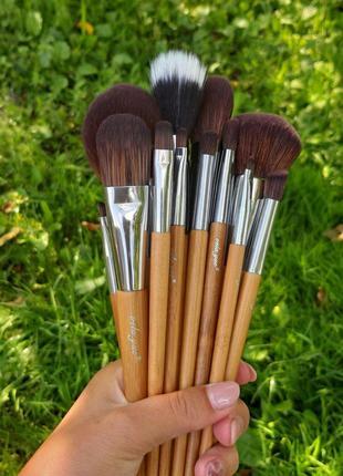 Набір кісточок для макіяжу, 15 шт. /Набор кистей для макияжа, кис