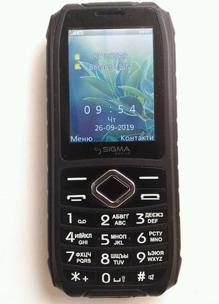 Мобильный телефон Sigma mobile X-treme IO67 Чорний