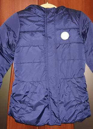 Пальто пуфер деми для девочки тм cool club