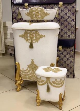 Набор корзинок в ванную комнату