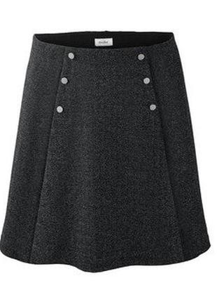 Sale! юбка свободного кроя с пуговицами tcm tchibo
