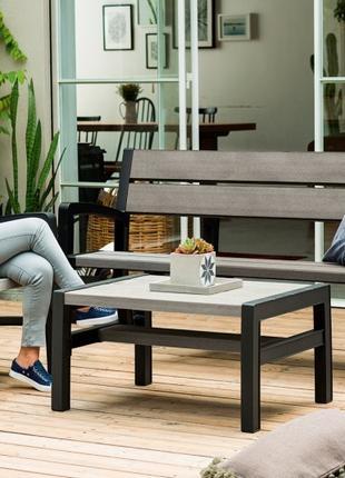 Комплект садовой мебели Keter Montero Triple Seat Bench