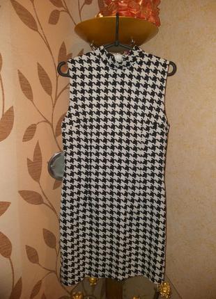 Платье фирменное гусиная лапка