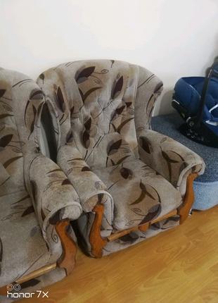Кресло + кроватка + матрас