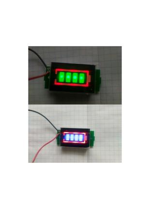 Индикатор заряда батарей 1s - 8s универсальный 1s 2s 3s 4s 5s-8s