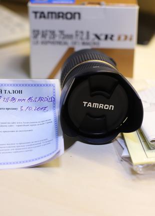 ОбЪектив Tamron AF 28-75mm f/2.8 XR Di LD (для Canon)