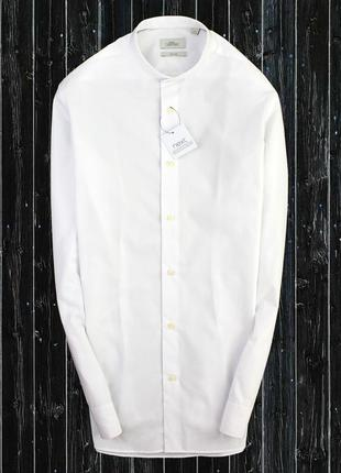 Рубашка с воротником стойка