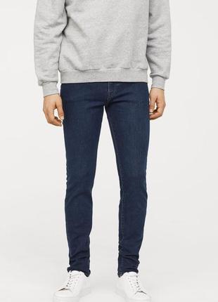 Мужские джинсы скинни h&m, р.27