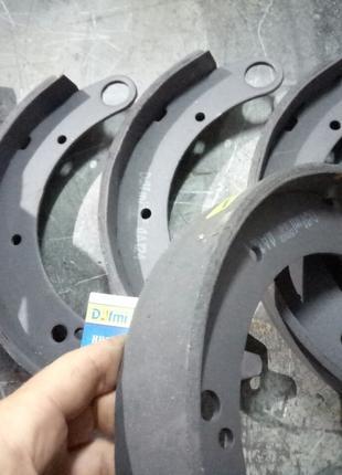Колодки тормозные Волга Dafmi ДА124 (комплект)