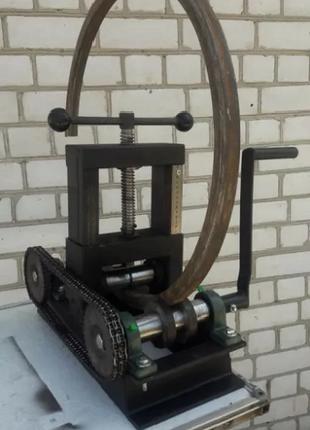 Профилегиб ручной трубогиб мах 80х80