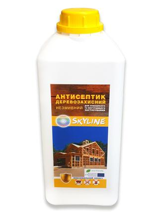 Антисептик для защиты древесины от влаги, грибка и др., 2л