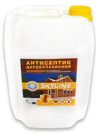 Антисептик для защиты древесины от влаги, грибка и др., 10л