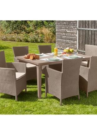 Комплект садовой мебели Allibert Keter Toscana Set