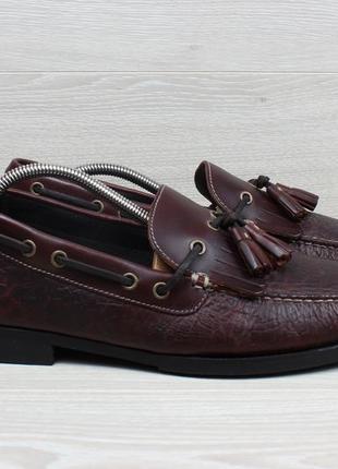 Кожаные мужские туфли / лоферы bob timberlake, размер 44