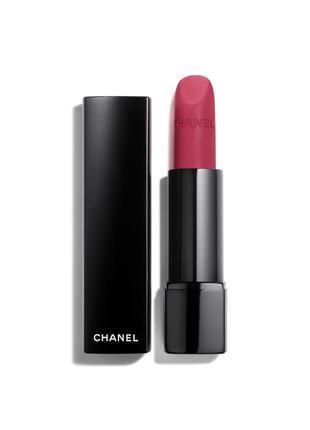 Оригинальный тестер губной помады chanel rouge allure velvet e...