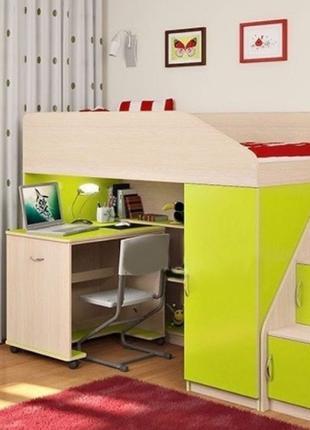 РАЗНАЯ Детская мебель модульная \ кровать чердак\ двухъярусная...