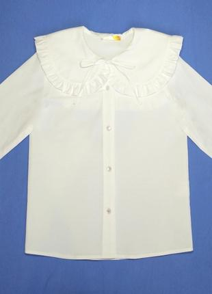 Стильная дизайнерская блузка для девочек 01g19a17w