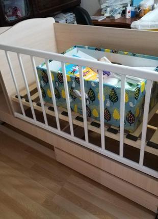 Детская кроватка-трансформер «DREAM»