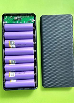 Корпус Павербанк Powerbank 8*18650 + LED(зарядка) microUSB 5V1,4A