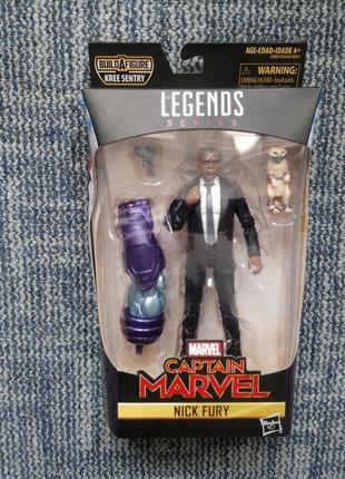 Hasbro Marvel Legends Фігурка Капітан Марвел Нік Ф'юрі