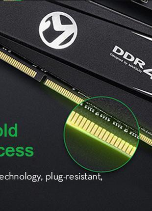 с подсветкой игровая оперативная память MAXSUN DDR4 16GB(8+8) 300