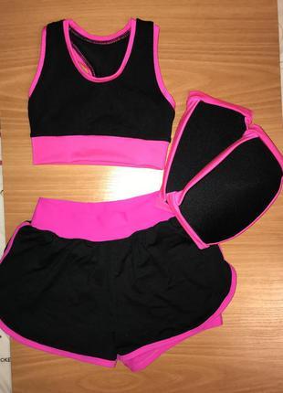 Тренировочный костюм для тренировок { художественная гимнастик...