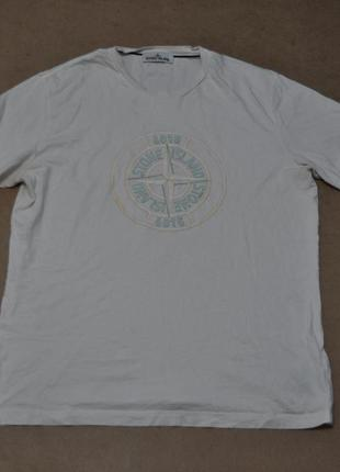 Stone island фирменная мужская футболка стоун