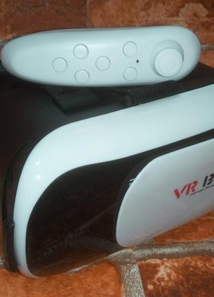 3D Очки Виртуальной Реальности VR BOX 2.0 с Пультом! 3Д Шлем