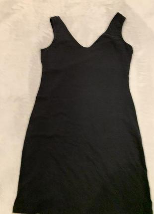 Трикотажное мини платье miss poem