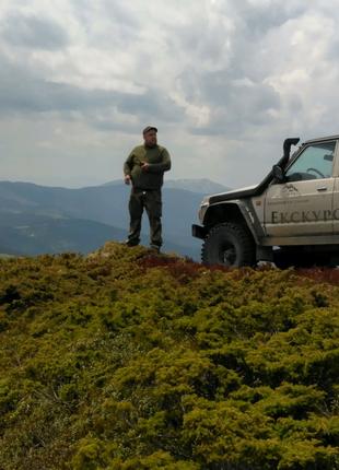 Поїздки горами в Карпатах