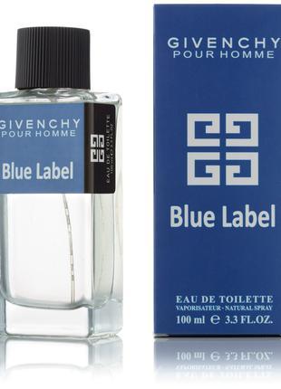 Мужская туалетная вода Pour Homme Blue Label - 100 мл (new)