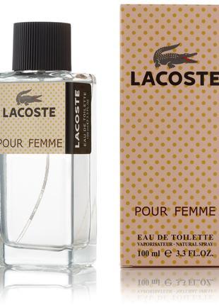 Женская туалетная вода Lacoste Pour Femme - 100 мл (new)