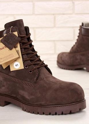🔥новинка🔥мужские зимние \демисезонные ботинки timberland brown...