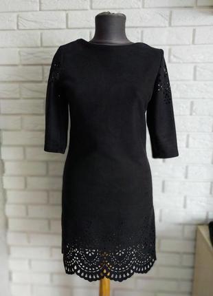 Замшевое платье romario