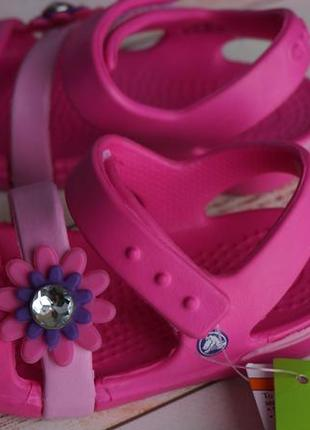 Детские босоножки, сандали, кроксы crocs girls keeley petal ch...