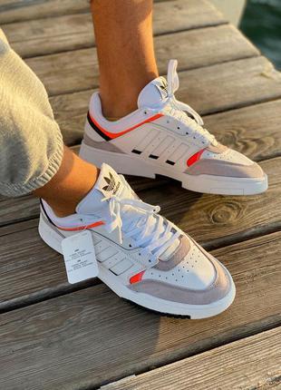 Хит на осень ! кроссовки adidas drop step white адидас дроп ст...