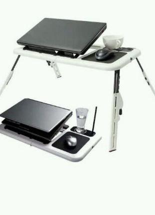 Столик для ноутбука с кулером новий