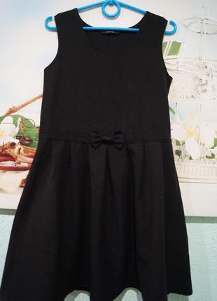 Платье в школу на девочку 6-7 лет,рост 116-122 см,бренд george