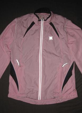 Crane sports (s,36/38) беговая куртка кофта ветровка трансформ...