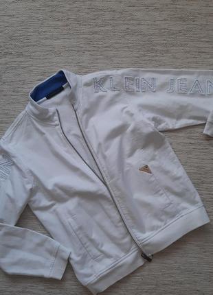 Трикотажная куртка calvin klein р. 146