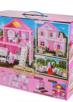 Игровой домик Животные флоксовые Happy Family 1515