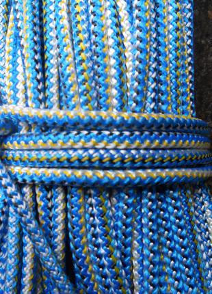 Веревка, шнур, фал для якоря, гамака, туризма, бытовой диаметр 5м