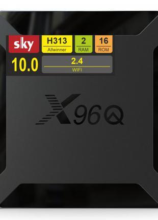 Полностью настроенные смарт ТВ приставки Х96Q 2/16 ГБ
